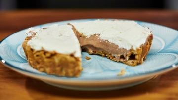 Mississippi mud pie - chocoladetaart - Mississipi Mud Pie / gâteau au chocolat